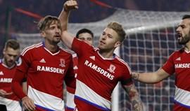 Middlesbrough sobe ao 13.º lugar e afunda Hull City