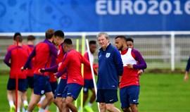 Euro'2016: Hodgson responsabiliza jogadores pela eliminação de Inglaterra
