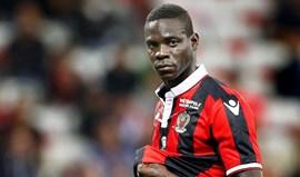 Balotelli reintegrado no Nice e já aponta ao... PSG