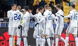 Grupo B: Besiktas cai para a Liga Europa ao ser goleado em Kiev