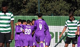 Sporting eliminado da Liga Jovem da UEFA
