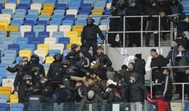UEFA abre processos disciplinares a Dínamo Kiev e Besiktas