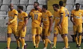 Grupo B: Olympiacos de Paulo Bento derrotado em Chipre