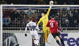 Grupo A: Vitória na Ucrânia vale apuramento ao Man. United