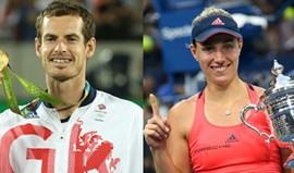 Murray e Kerber campeões do Mundo de 2016