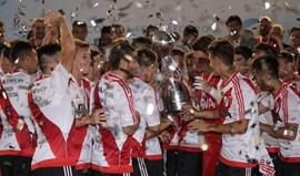 Argentina: River Plate conquista Taça num jogo louco