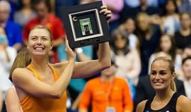 Apesar de suspensa, Sharapova voltou aos courts e quase bateu a campeã olímpica