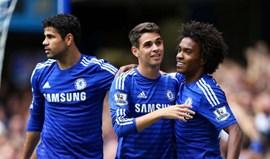 Oscar troca Chelsea por Shangai a troco de 62 milhões de euros