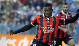 Balotelli marca dois ao Dijon e o Nice reforça liderança