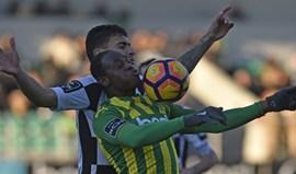 Tondela-Boavista, 1-1: Pantera reage e empata Petit