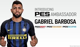 Gabigol torna-se embaixador do PES
