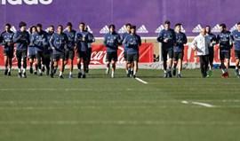 Pepe faz treino condicionado