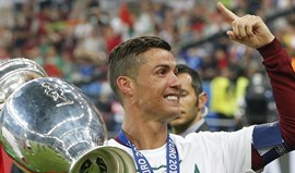 Cristiano Ronaldo eleito desportista do ano para a Eurosport