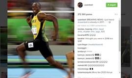 Usain Bolt é tão rápido... que já está 2017