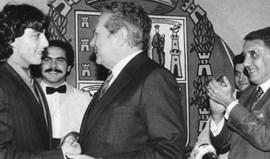 Paulo Futre recorda como Mário Soares lhe 'salvou' a carreira: «Foi um herói para mim»