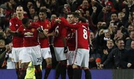José Mourinho soma 5.ª vitória à frente do Manchester United
