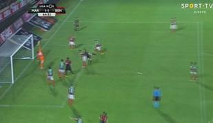 Gottardi fez uma das defesas do campeonato... e pouco depois o Marítimo marcou
