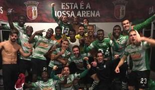 Foi assim que o Sp. Covilhã celebrou em Braga