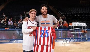 Griezmann cumpriu sonho de criança no Madison Square Garden