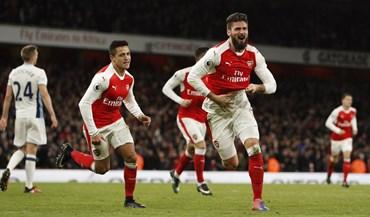 Arsenal vence com golo perto do final