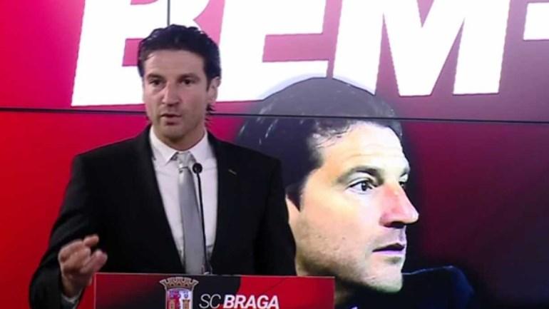 Sabe quantos pontos quer afinal Jorge Simão para o 'seu' Sp. Braga?