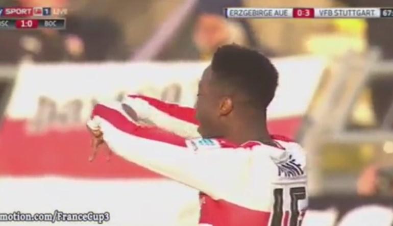 Veja os dois golos de Carlos Mané na goleada do Estugarda