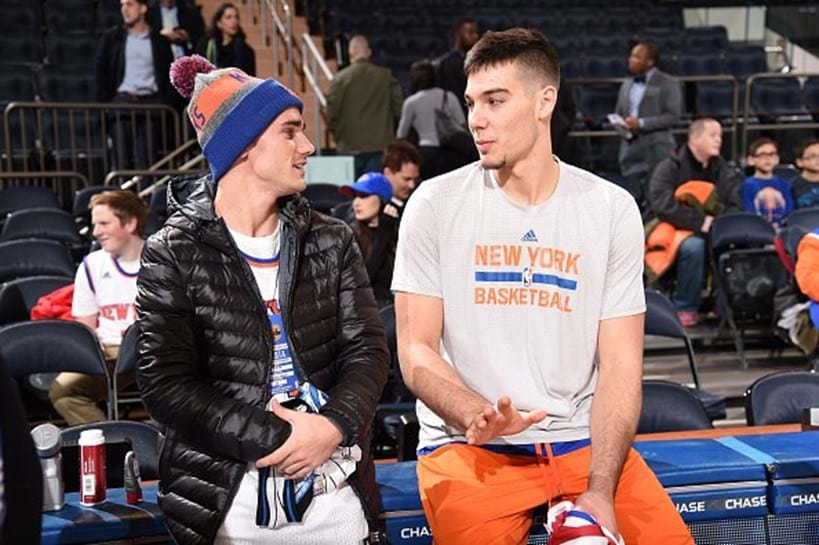 Griezmann cumpriu sonho de crian a no madison square for Madison tenis de mesa