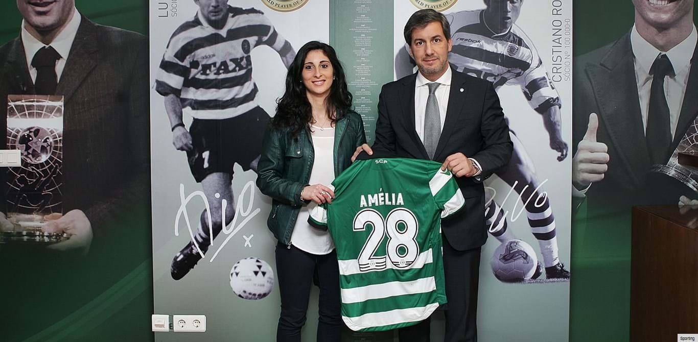 Amélia Vale Pereira reforça Sporting