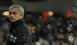 Mourinho revela o feeling que resultou em mais uma vitória