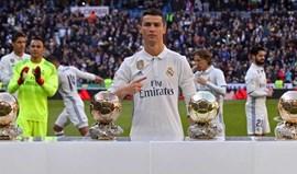 Ronaldo dedicou quarta Bola de Ouro a adeptos merengues