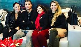 Mulheres Aveiro levam Cristiano Ronaldo até Zurique