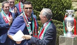 Marcelo Rebelo de Sousa felicita Ronaldo pelo prémio de melhor futebolista do mundo
