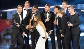 Sergio Ramos e Modric incluíram Messi nos votos