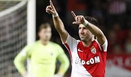 Taça da Liga: Monaco avança para as 'meias' com golo de Moutinho