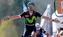 Alejandro Valverde atingido por cancela enquanto treinava