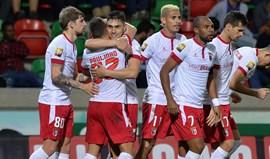 Marítimo-Sp. Braga, 0-1: Golpe de fortuna nos descontos