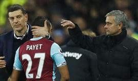 Dimitri Payet não quer voltar a jogar pelo West Ham