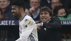 Diego Costa pegou-se com Conte e acabou fora dos convocados