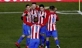 Atlético Madrid vence Betis com golo de Gaitán