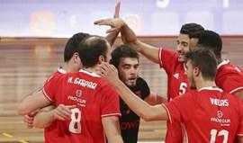 Benfica continua 100% vitorioso