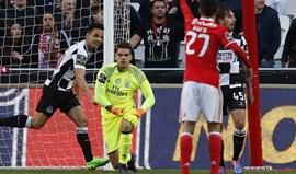 A crónica do Benfica-Boavista, 3-3: Sem carta de pesados