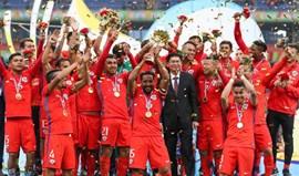 Chile vence Islândia e conquista primeira edição da China Cup