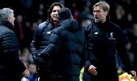Afinal, Mourinho e Klopp discutiram por uma... bagatela