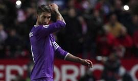 Ronaldo para Sergio Ramos: «É preciso ter cabeça, f...»