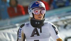 Esqui alpino:Lindsey Vonn quer competir entre os homens