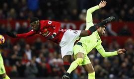 Pogba e o penálti do Liverpool: «M... acontece»