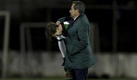 O sofrimento de Adrien com a eliminação da Taça de Portugal