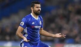 Diego Costa voltou a treinar... depois de pagar pesada multa