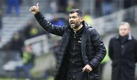 Nantes de Sérgio Conceição soma quarto triunfo consecutivo na Liga