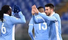 Lazio afasta Génova e vai defrontar o Inter